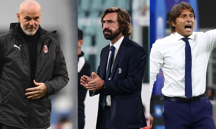 Milan e Inter, che regali alla Juve! Così riportano Pirlo in lotta per lo scudetto