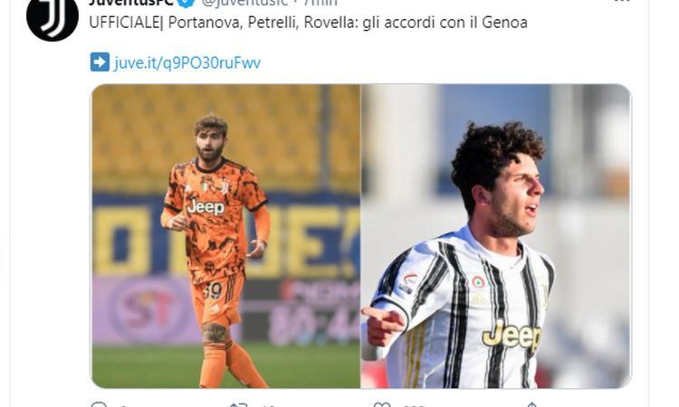 Juve, le cifre UFFICIALI degli affari Rovella, Portanova e Petrelli: maxi-bonus e oltre 17 milioni di plusvalenza, i dettagli