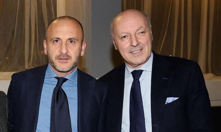 Inter, Marotta, Antonello e Ausilio positivi al Covid: la nota del club