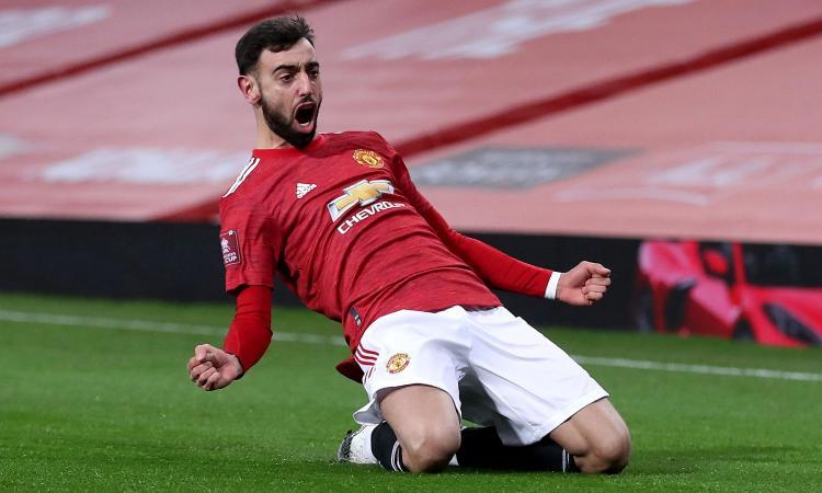 Man United, super offerta per il rinnovo di Bruno Fernandes