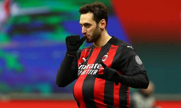 Milan, il rinnovo di Calhanoglu può dipendere dalla Champions