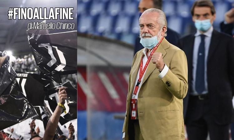 Chirico: 'De Laurentiis e il coraggio di provare a spostare ancora Juve-Napoli. E la Figc resta a guardare...'