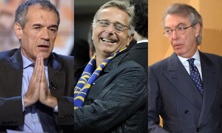 Da Cottarelli a Bonolis, riecco la cordata di vip per l'Inter: 'Apriremo una sottoscrizione tra tifosi'. E Moratti...