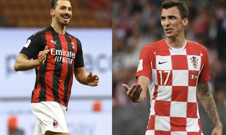 Milanmania: Mandzukic con Ibra per scudetto ed Europa League! Meité già pronto, ora il difensore