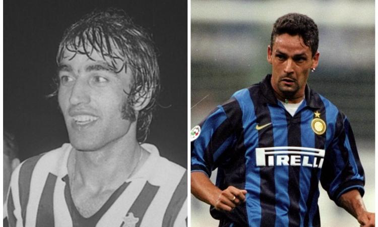 Da Anastasi a Baggio, quando l'Inter era il 'cimitero' dei big della Juve