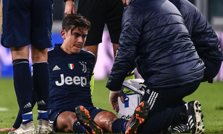 Juventus, UFFICIALE: problema al collaterale per Dybala, out 15-20 giorni. Nessuna lesione per McKennie e Chiesa