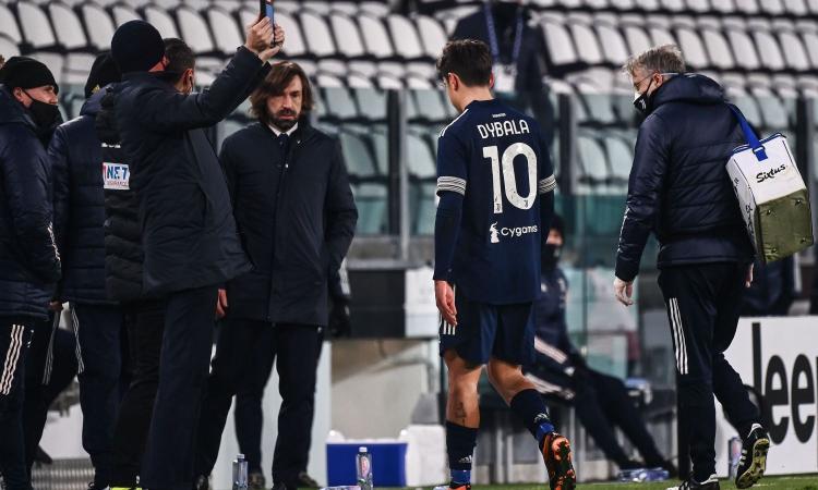 Juve, slitta il rientro in gruppo di Dybala: salta il Napoli