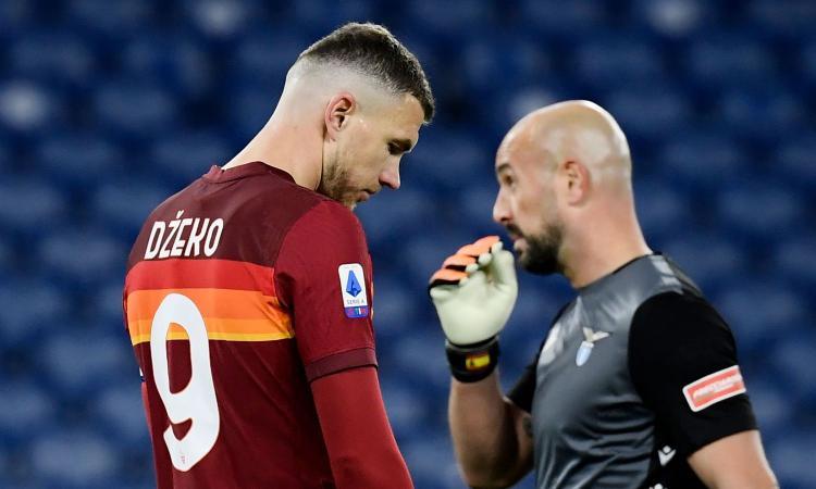 La Roma fallisce l'ennesimo esame: difesa colabrodo con le big e Dzeko non incide quasi mai