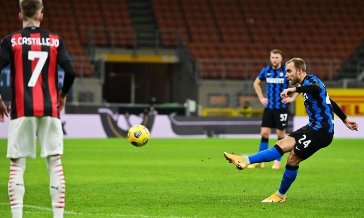 Inter, il gol su punizione mancava da quasi 3 anni!