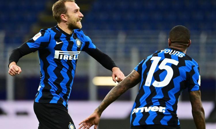 Inter-Milan 2-1, il tabellino