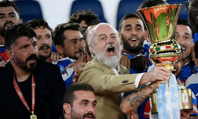 Napoli, discorso chiuso per Gattuso? De Laurentiis lo incontrerà in caso di Champions
