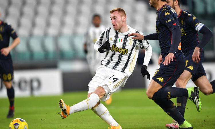 Coppa Italia: la Juve si fa rimontare dal Genoa ma ai supplementari decide Rafia: 3-2