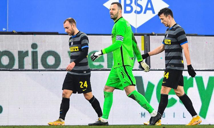 L'Inter e il dubbio portiere: può restare Handanovic