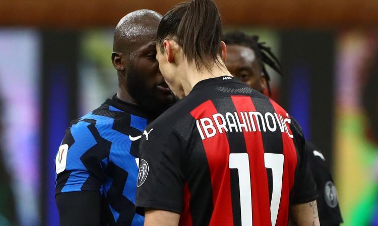 Lite con Ibrahimovic, la Procura Federale sente Lukaku. Per entrambi il derby non è a rischio