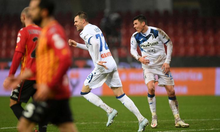 Serie A: Atalanta, poker al Benevento e quarto posto. Genoa batte Bologna