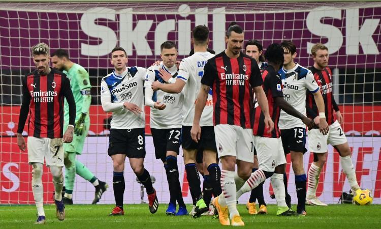 L'Atalanta umilia il Milan: 0-3 a San Siro, ma Pioli è campione d'inverno