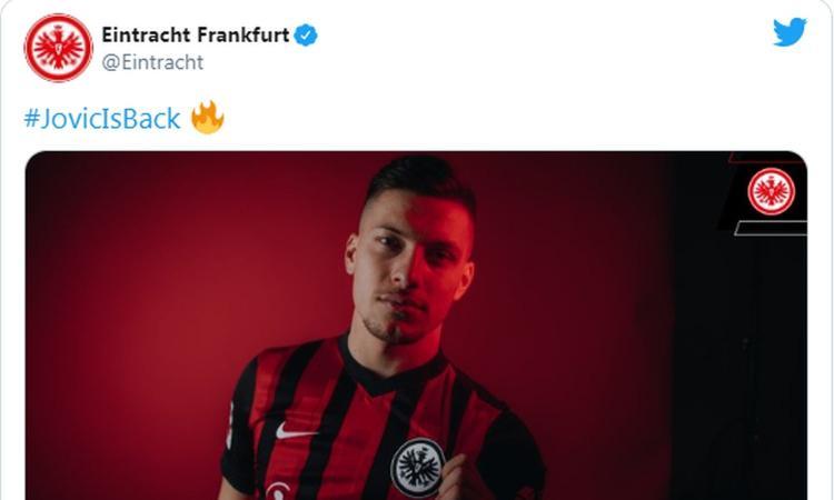 Niente Milan, UFFICIALE: Jovic torna in prestito dal Real all'Eintracht