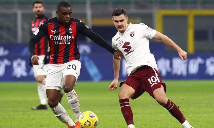 Milan-Udinese, le formazioni ufficiali: gioca Kalulu, torna Romagnoli. C'è Nestorovski
