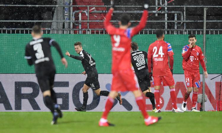 Clamoroso in coppa di Germania: Bayern fuori ai rigori contro il Kiel, club di seconda divisione!