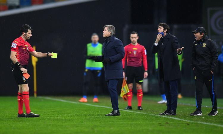 Serie A, due giornate di squalifica a Conte: 'Irrispettoso, minaccioso e gravemente offensivo'