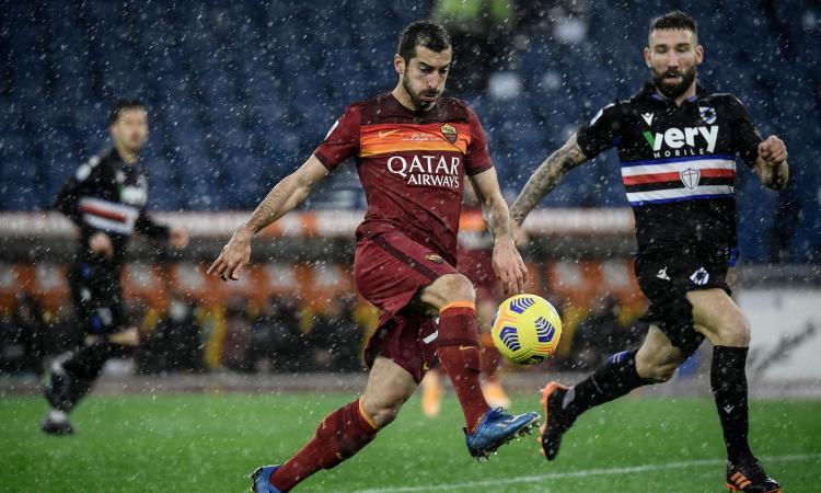 Roma-Spezia, le formazioni ufficiali: tornano Kumbulla e Galabinov, Pedro e Mkhitaryan dietro a Mayoral