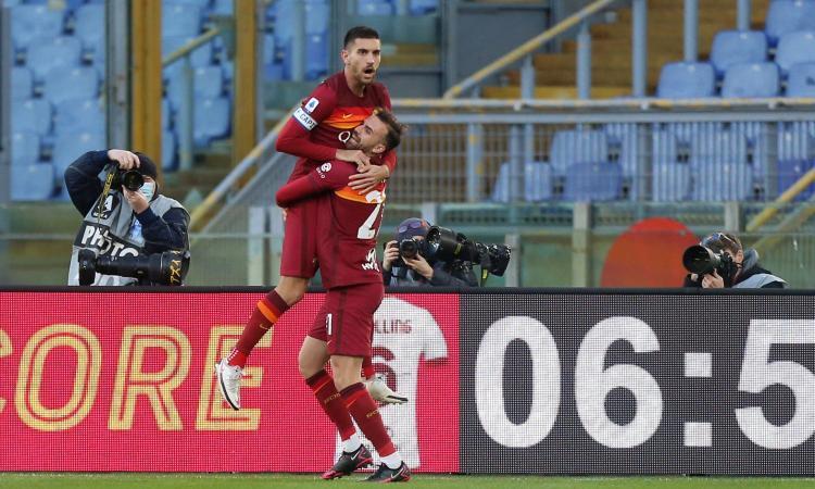 Pellegrini salva Fonseca a tempo scaduto! Incredibile 4-3 della Roma sullo Spezia