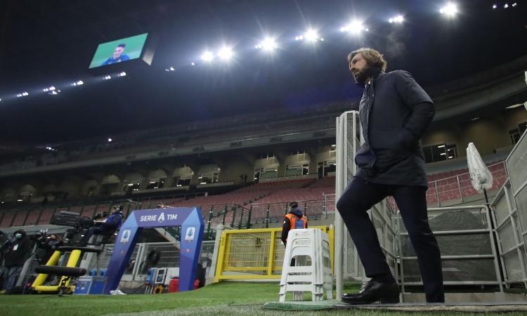 Ora Pirlo ha pure gli uomini contati: con il Napoli sarà una Juve a pezzi