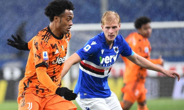 Sampdoria: Thorsby ancora a parte, ma sul campo