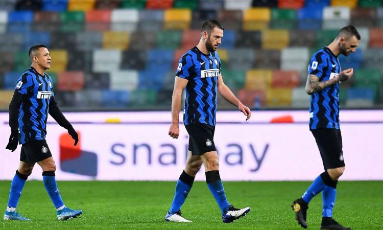 Inter, poco gioco e tanto nervosismo. Ma il crollo del Milan dice che Conte vincerà lo scudetto