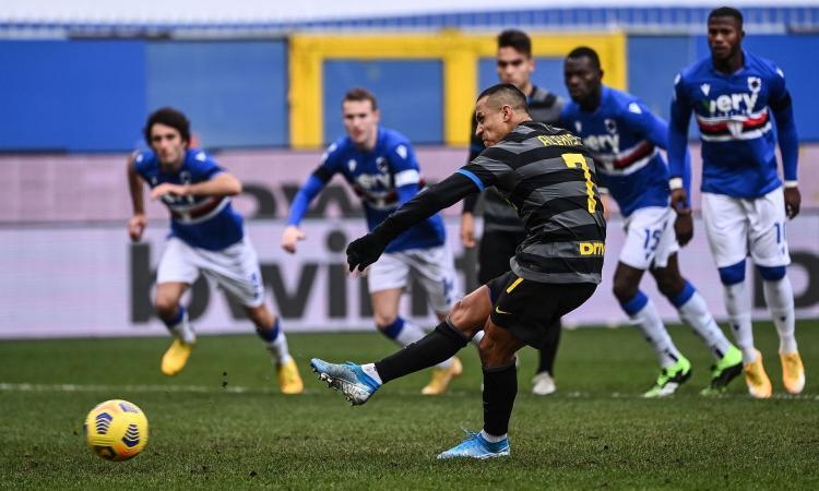 Sanchez aveva sbagliato 7 rigori su 11: Inter, ma doveva tirare proprio lui?