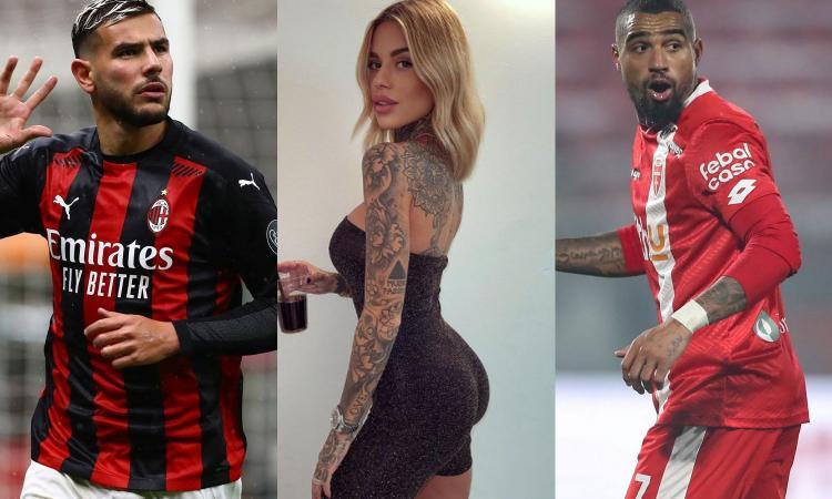 Theo Hernandez, Zoe e... Boateng: tenera amicizia tra l'ex Monza e l'influencer