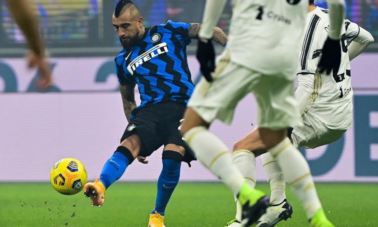 Inter-Juve: Vidal e Barella, luci a San Siro VIDEO