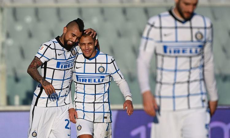 Fiorentina-Inter 1-2 d.t.s.: il tabellino