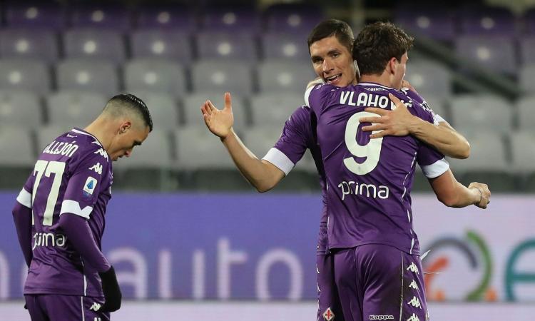 Fiorentina, solo Immobile davanti a Vlahovic. Vittoria che vale oro, il Cagliari rischia la B