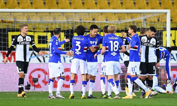 Serie A: crollo Napoli, battuto 3-1 dal Verona. La Samp sbanca Parma, Destro decide Genoa-Cagliari. La classifica