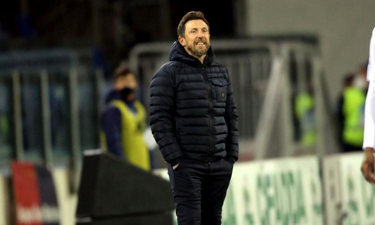 Ore decisive per Di Francesco, il Cagliari pensa all'esonero: ecco chi può sostituirlo