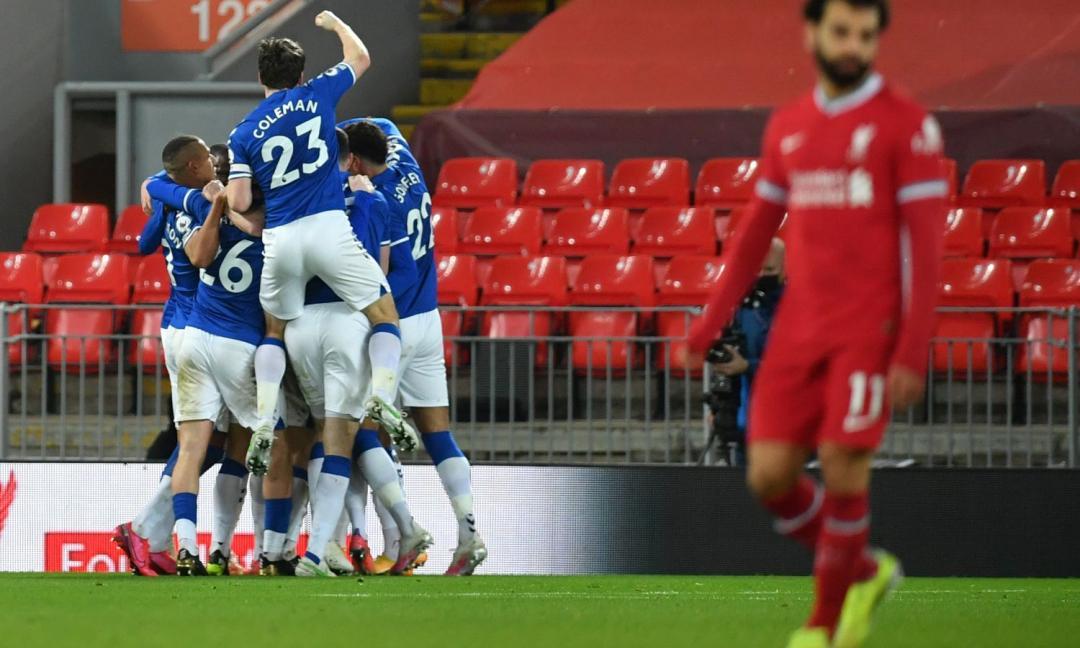 La caduta dei giganti: il Liverpool sprofonda nel derby