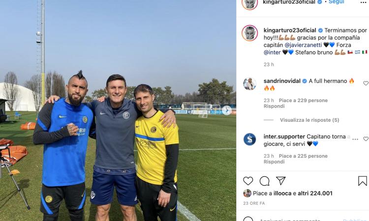 Comparsa nel derby, la missione recupero parte con Zanetti: Vidal deve (ri)conquistare Conte e l'Inter