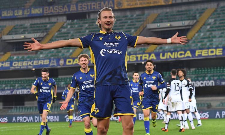 Barak il castiga-Juve che fa volare il Verona: quell'offerta del Milan...