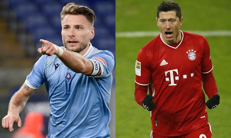 Immobile vs Lewandowski: tra le scommesse la sfida dei 'Tiri in porta'