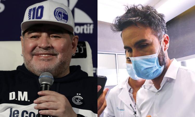 Morte Maradona, nuove chat inquietanti: 'Birra, vino e marijuana ovunque'. Ed è bufera sul dott. Luque