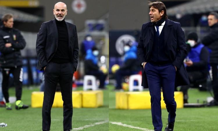 Milan in calo, Conte tra i migliori quando gioca senza coppe: l'Inter vincerà il derby e sarà fuga scudetto