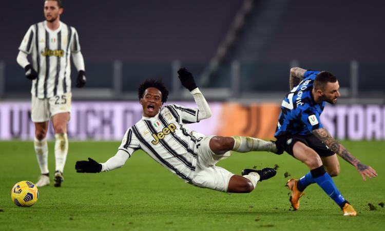 Juve-Inter, Pirlo jr. risponde a Brozovic: la FOTO di Cuadrado 'uomo derby d'Italia'