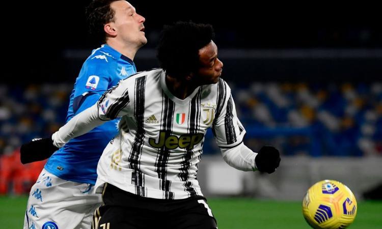 Juve, UFFICIALE: lesione muscolare per Cuadrado, salta Porto e Crotone. Ramsey parzialmente in gruppo