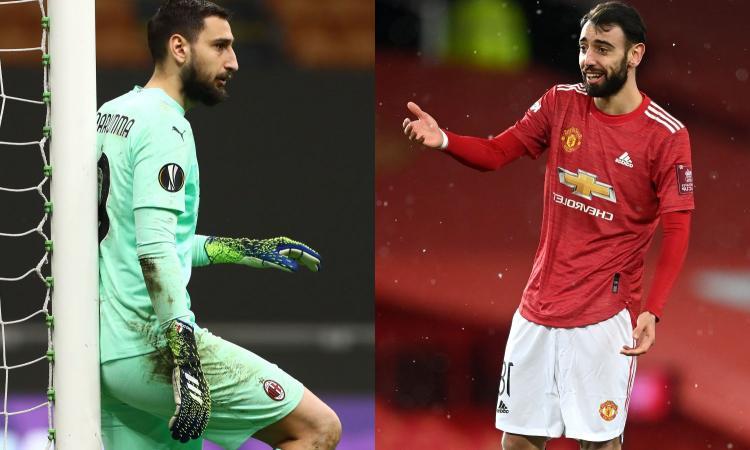 Europa League, chi vale di più? La top 10: solo Donnarumma per il Milan, il Manchester United fa paura!
