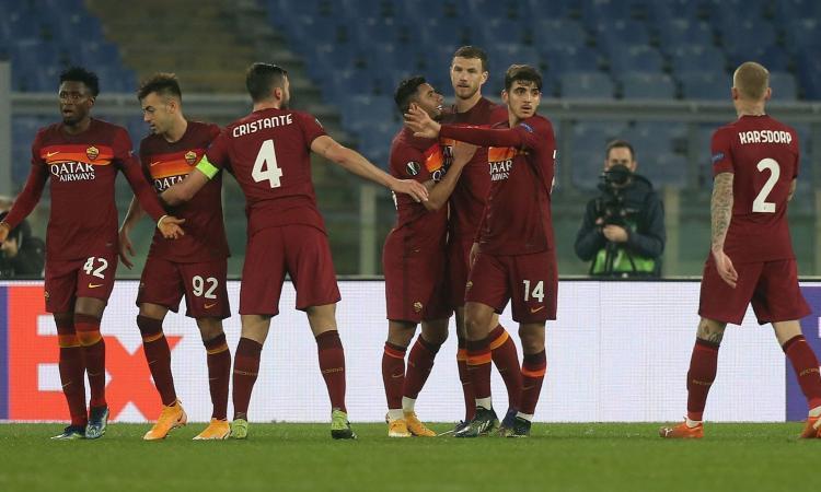 Roma-Braga 3-1: il tabellino