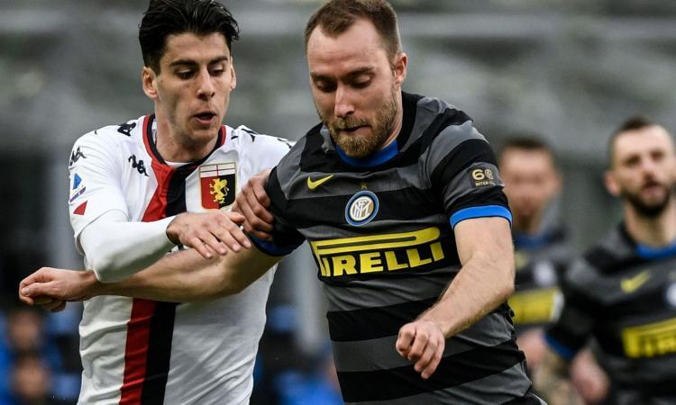 La strana coppia funziona: Eriksen-Brozovic hanno trasformato l'Inter