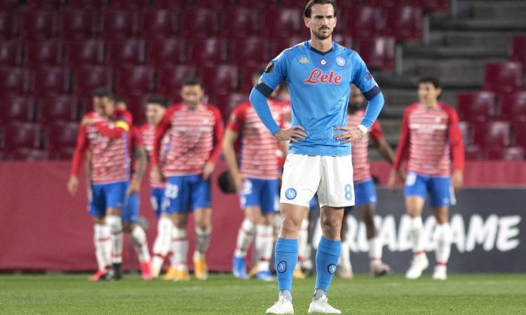 Napoli eliminato, a Gattuso non riesce il miracolo: quanti rimpianti per l'andata a Granada