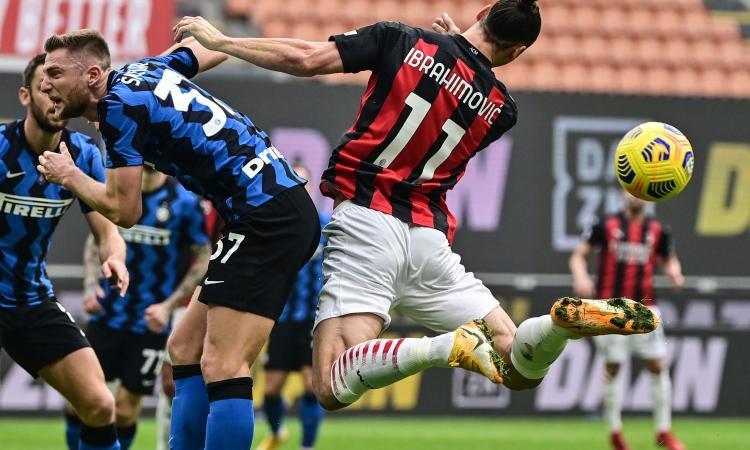 Milan-Inter, rivivi la MOVIOLA: giallo Hakimi, era diffidato. Ibra chiede un rigore