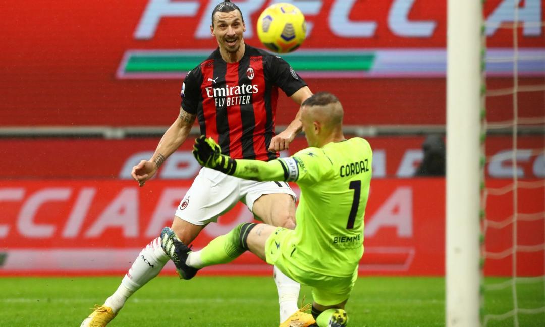 Ibra più sereno e il Milan timbra il cartellino col Crotone